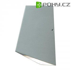 Venkovní nástěnné LED svítidlo Imola Up & Down 7928-310, 8 W, stříbrná/šedá