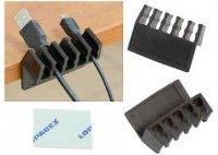 Stolní organizér kabelů, 2 kusy
