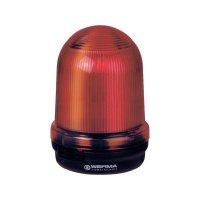 Trvalé světlo Werma, 826.100.00, 12 - 240 V/AC/DC, IP65, červená