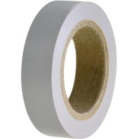 Izolační páska, HelaTapeFlex 15, 15 mm x 10 m, šedá, HellermannTyton 710-00108