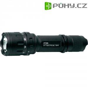 Kapesní LED svítilna LiteXpress X-Tactical 104, LXL447001, černá