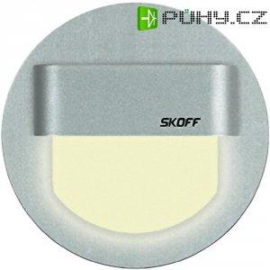 Vestavné LED osvětlení SKOFF Rueda, 10 V, 0,8 W, teplá bílá, hliník