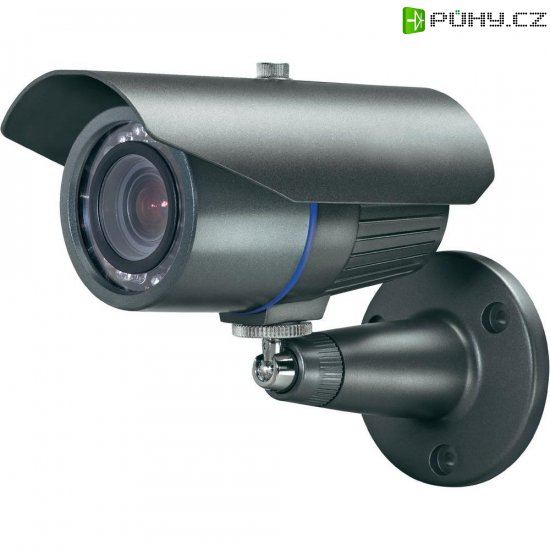 Venkovní kamera Sygonix 600 TVL, 8,5 mm Monalisa CCD, 12 VDC, 3.8 - 9.5 mm - Kliknutím na obrázek zavřete