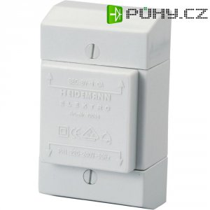 Zvonkový transformátor Heidemann 70046, 8 V/AC, bílá /šedá