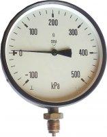Manometr -100/+500kPa Chirana, průměr 160mm