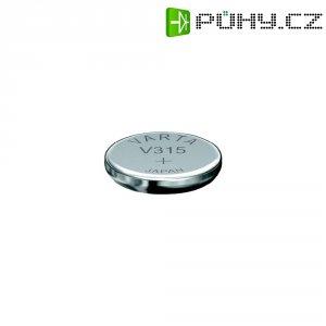 Knoflíková baterie 315, Varta SR67, na bázi oxidu stříbra, 00315101111