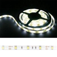 LED pásek 5050 30LED/m IP54 7.2W/m bílá teplá (1ks=cívka 5m) zalitý