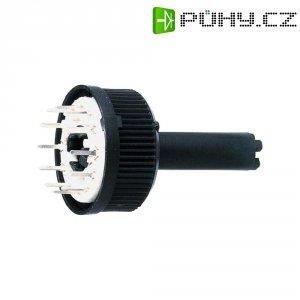 Miniaturní otočný spínač, 150 V/AC, 5 W, 6 1 x 30 °