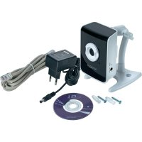 Barevná monitorovací kamera sygonix IR 43176Y, LAN, 1600 x 1200 px