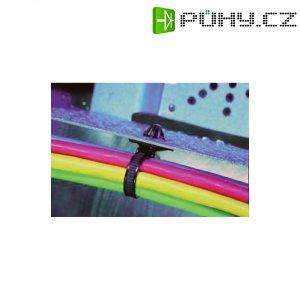 Stahovací pásek s čepem, 160 x 4,6 mm, černý, T50SOSSFT6.5-BK