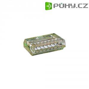 Svorka Wago, 273-158, 0,75 - 1,5 mm², 8pólová, transparentní