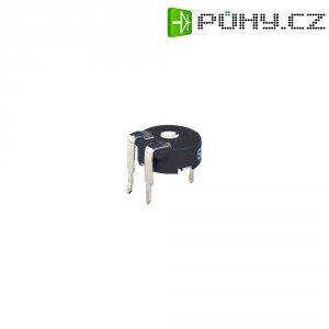 Miniaturní trimr Piher, horizontální, PT 10 LV 500K, 500 kΩ, 0,15 W, ± 20 %