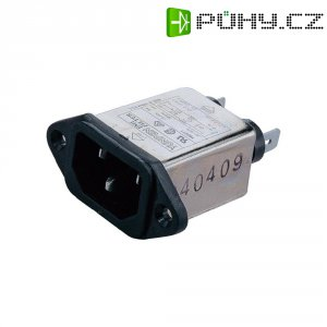 Síťový filtr Yunpen YB03T1, 2 x 1,8 mH, 125/250 V/AC, (50/60Hz), 3 A