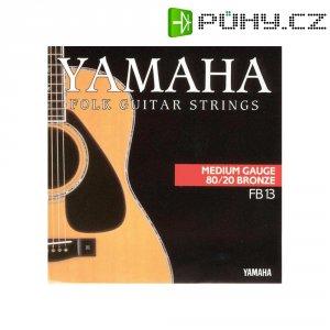 Struny na westernovou kytaru Yamaha Medium, 013 - 056