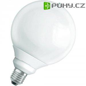Úsporná žárovka kulatá Osram Superstar E27, 17 W, teplá bílá
