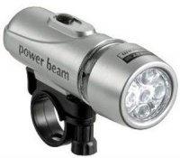 Cyklosvítilna 5xLED, power beam, napájení 3xAAA