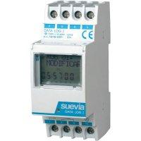 Digitální spínací hodiny na DIN lištu Suevia Data Log I, 230 V/AC