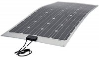 Fotovoltaický solární panel 12V/150W monokrystalický flexibilní