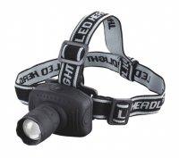 Svítilna čelovka LED 1W fokus
