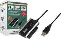 Propojovací kabel USB 2.0 ⇐ SATA, IDE, 0,9 m, Digitus