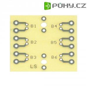 Zkušební deska WR Rademacher WR-Typ 925 (VK C-925-EP), epoxyd, 40 x 37 x 1,5 mm