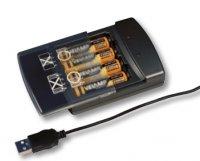 VELAMP USB nabíječka baterií USB12