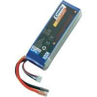 Akupack Li-Pol (modelářství) Conrad energy, 11.1 V, 5000 mAh, 30 C, otevřené kabelové koncovky