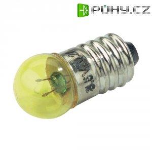 Kulatá žárovka Barthelme, 3,5 V, 0,7 W, 200 mA, E10, žlutá