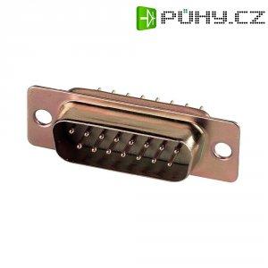 D-SUB kolíková lišta Assmann A-DS 15 PP/Z, 15 pin