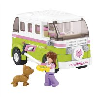 Stavebnice SLUBAN GIRLS DREAM OBYTNÉ AUTO M38-B0523