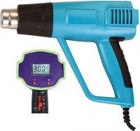 Horkovzdušná pistole ZD-510 1500W s regulací teploty a displejem
