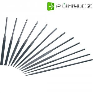 Sada jehlových pilníků Toolcraft 821007, Ø násady 3 mm, 12 ks