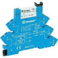 Interface pro relé na DIN Finder 38.61.0.240.0060, 230 V DC/AC, 6 A, pozlacené
