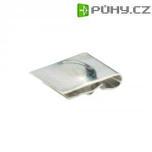 Kontakt pro baterii AAA Keystone 238, 5,94 x 8,57 mm, stříbrná