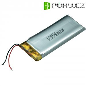 Akumulátor Li-Pol Renata, 3,7 V, 420 mAh, ICP402050PR