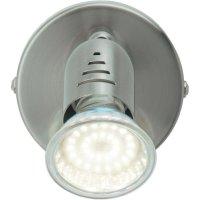 Nástěnné svítidlo Brilliant Loona, G28810/13, GU10, 2,5 W, teplá bílá