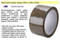 Lepící páska - izolepa hnědá 48mm/66m Ulith