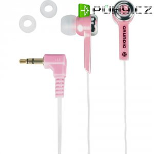 Ružová sluchátka Grundig