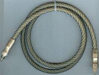 Kabel optický TOSLINK-TOSLINK 8mm/1m DOPRODEJ