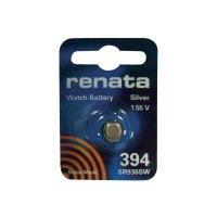 Knoflíková baterie na bázi oxidu stříbra Renata SR936, velikost 394, 84 mAh, 1,55 V