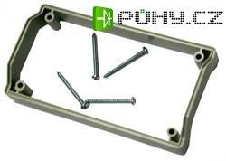 Mezikroužek Strapubox SGR 1015, 15 mm, šedá