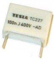 100n/400V TC227, svitkový kondenzátor radiální