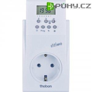 Spínací zásuvka s časovačem Theben, 200000, 3500 W, IP20, digitální, týdenní