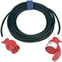 Prodlužovací CEE kabel Sirox, 25 m, 63 A, černá
