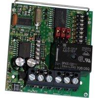 1kanálový přijímač SVS Nachrichtentechnik stavebnicový díl 10-24 V/AC/DC Max. dosah (volný prostor) 80 m