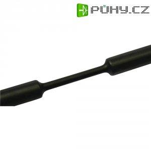 Smršťovací bužírka HellermannTyton Treduxc 3:1 mm, černá, 1 m