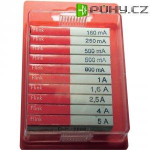 Jemná pojistka ESKA rychlá 120950, 5 mm x 20 mm, 100 Parts
