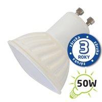 Žárovka LED SPOT GU10 7W bílá teplá