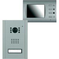 Domácí videotelefon, 27062, 1 rodina, stříbrná