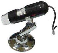 USB digitální mikroskop k PC, zvětšení 25-200x